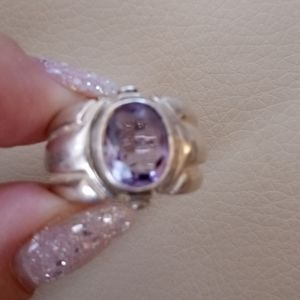 Jewelry - TANZANITE 925 STERLING NATURAL RING
